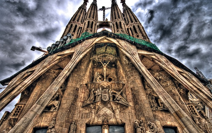 Sagrada familia katedra