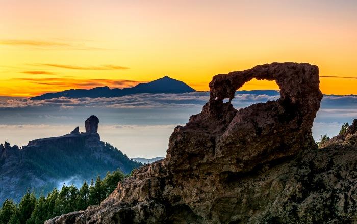 Roque Nublo uola
