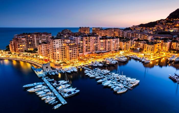 Monako prieplauka
