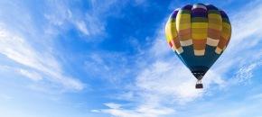 Skrydis oro balionu Birštone