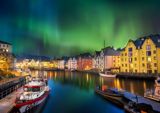 Norvegija, Olesiundas