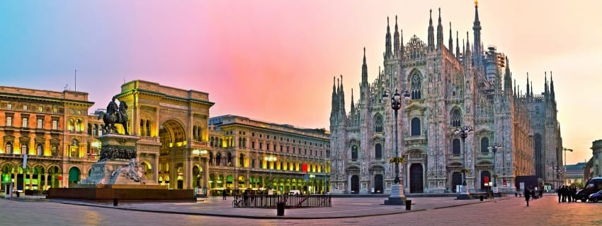 Italija, Milanas