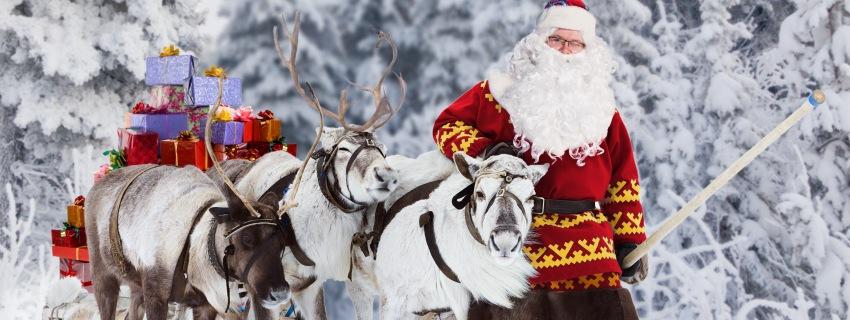 Naujieji metai Laplandijoje