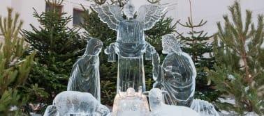 Ledo skulptūrų festivalis Jelgavoje