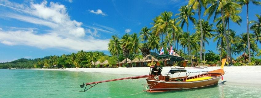 Puketo ir Koh Samui salos