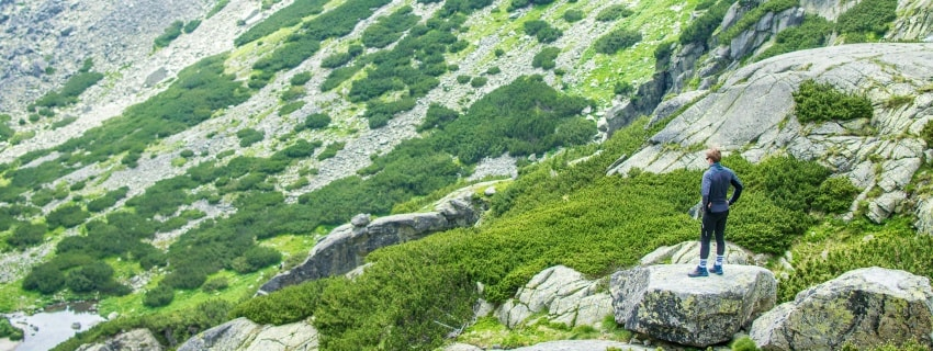 Trumpas kalnų žygis. Slovakija