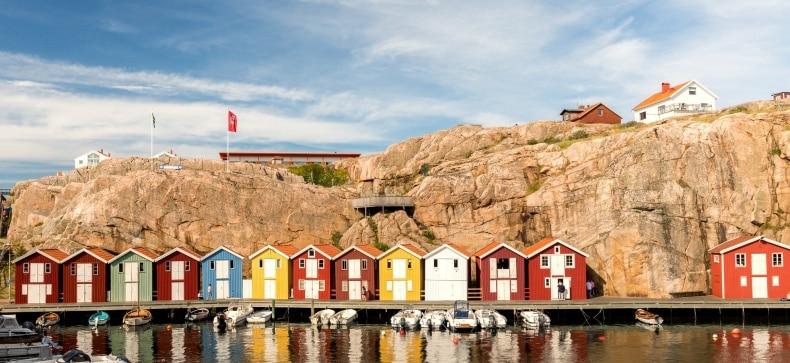 Geteborgas, Švedija