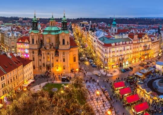 Praha – Viena – Budapeštas