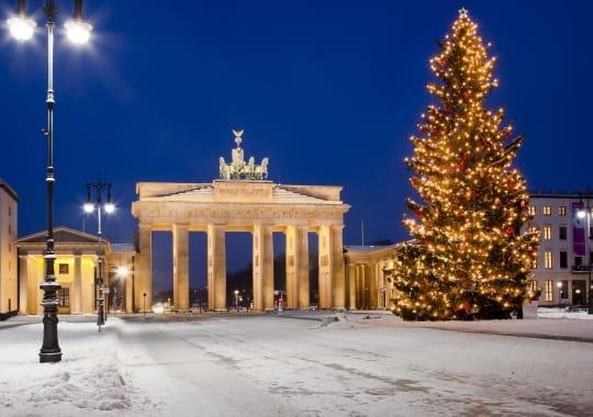 Kalėdinis Berlynas (lėktuvu)