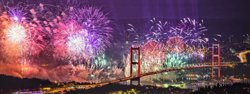 Naujieji metai Stambule