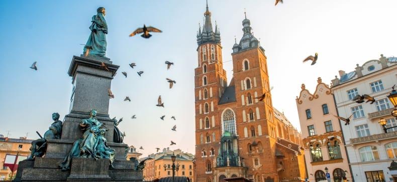 Krokuva, Velička, Varšuva