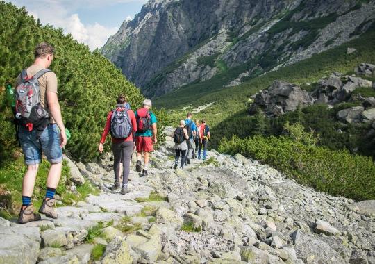 Kalnų žygis. Slovakija