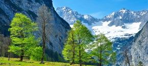 Kalnų žygis. Austrija