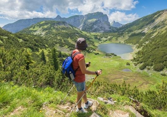Ekstremalus kalnų žygis. Austrija