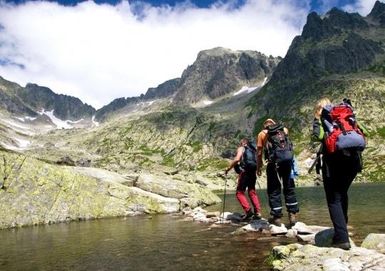 Ekstremalus kalnų žygis. Slovakija