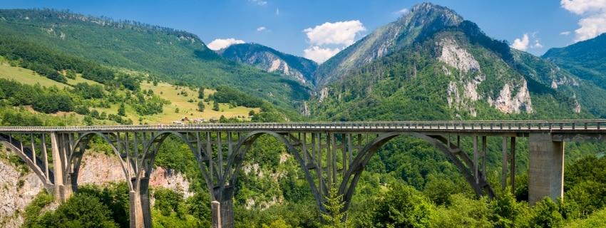 Kalnų žygis. Juodkalnija