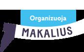 Organizuoja Makalius