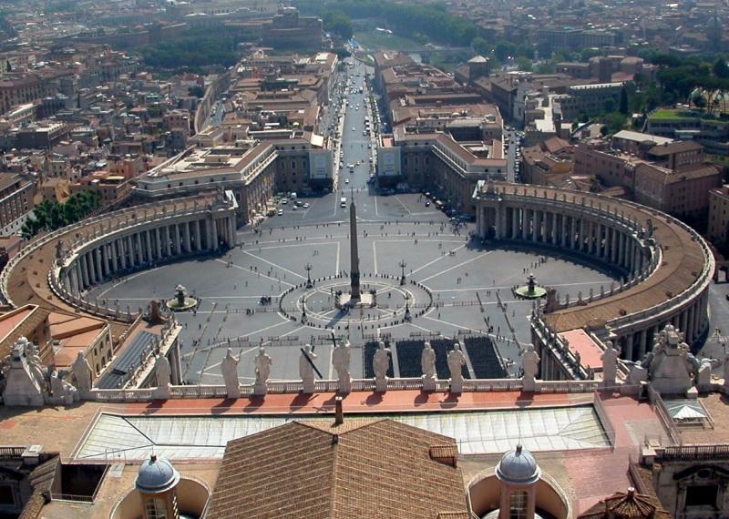 vatikanas, šv petro aikštė