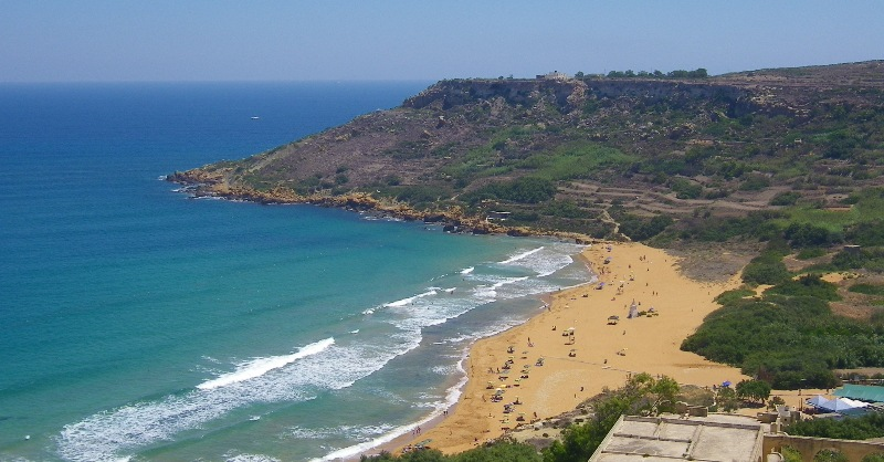 Papludimys Gozo saloje