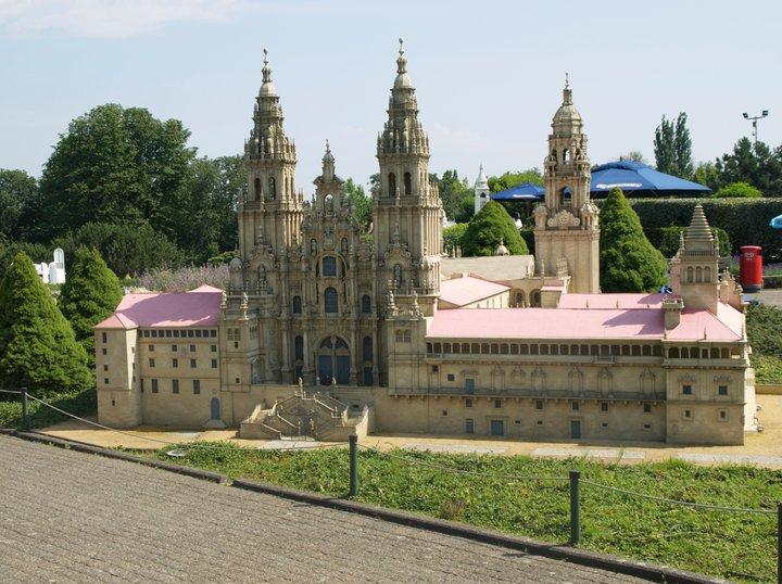 Galicia, Spain, The Cathedral of Santiago de Compostela
