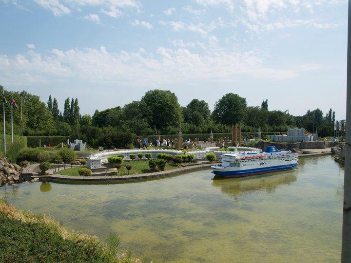 Mini Europe Park Jumbo Ferry