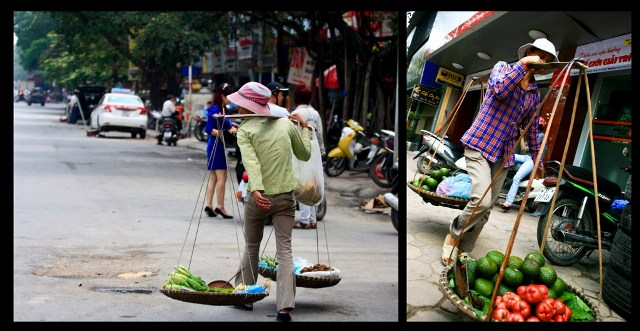 Hanoi gatve