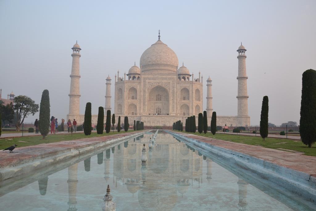 Taj Mahal. Agra