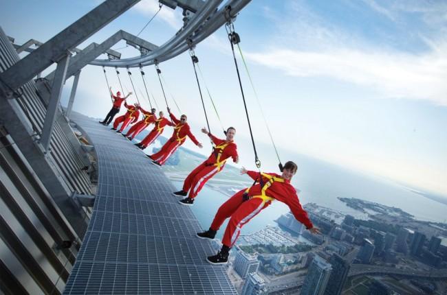 CN TOWER - EdgeWalk Receives Guinness World Records® Title
