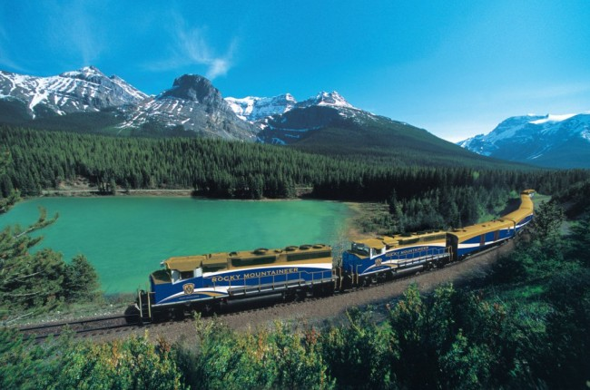 Vancouver to Banff