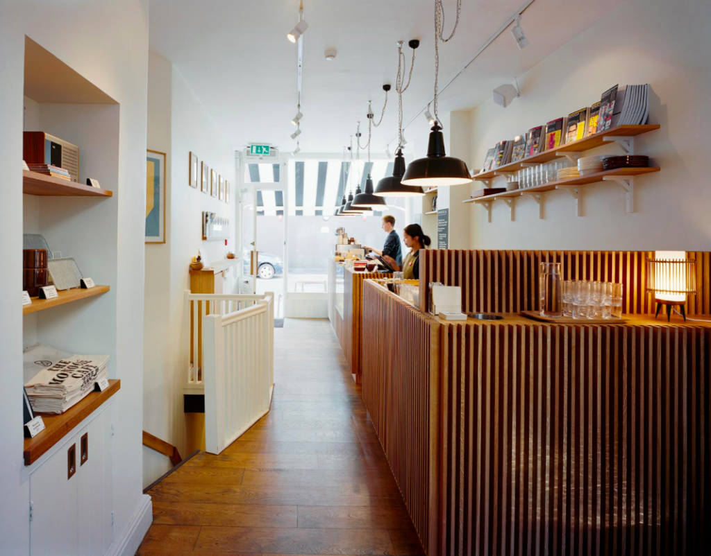 The Monocle Cafe, London