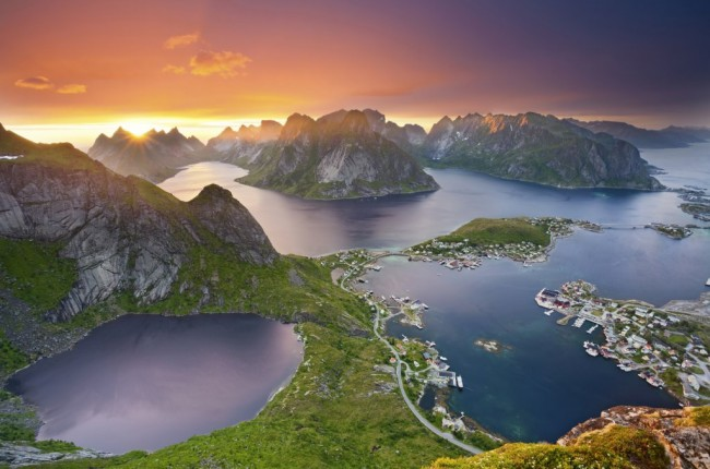 norvegija fjordai