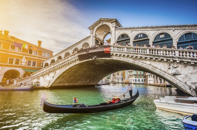 gondola, venecija