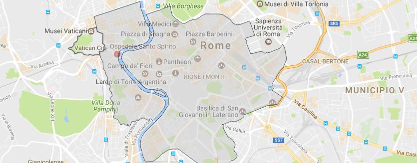 romos centras