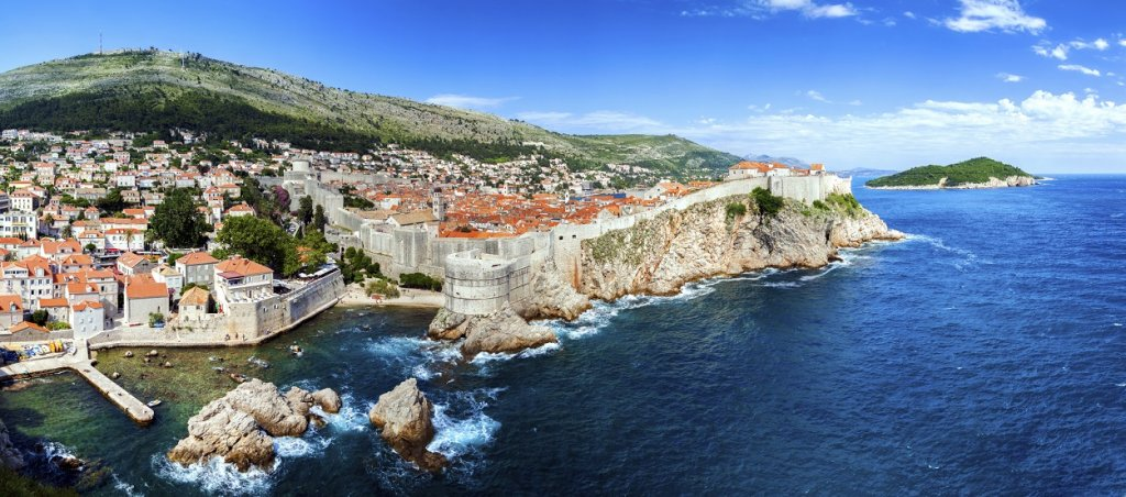 Dubrovnik panoramic view